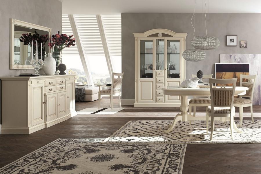 Klassieke witte meubel collectie