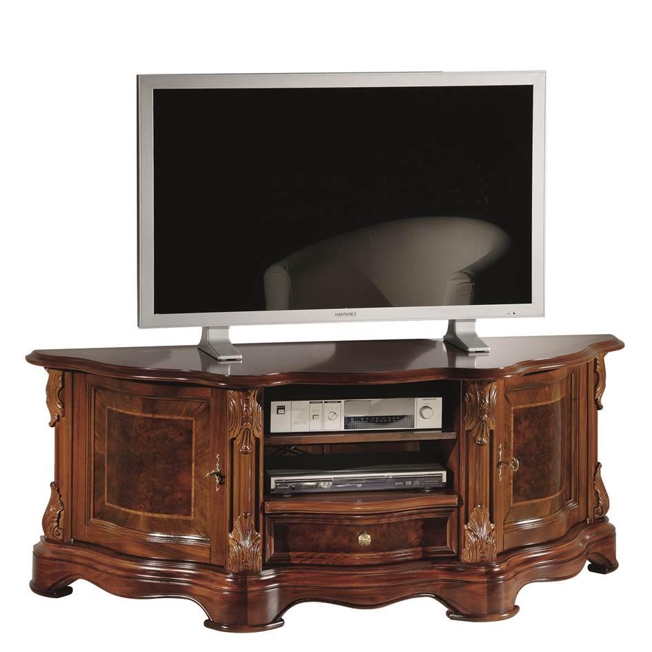 Klassiek noten TV meubel E 515