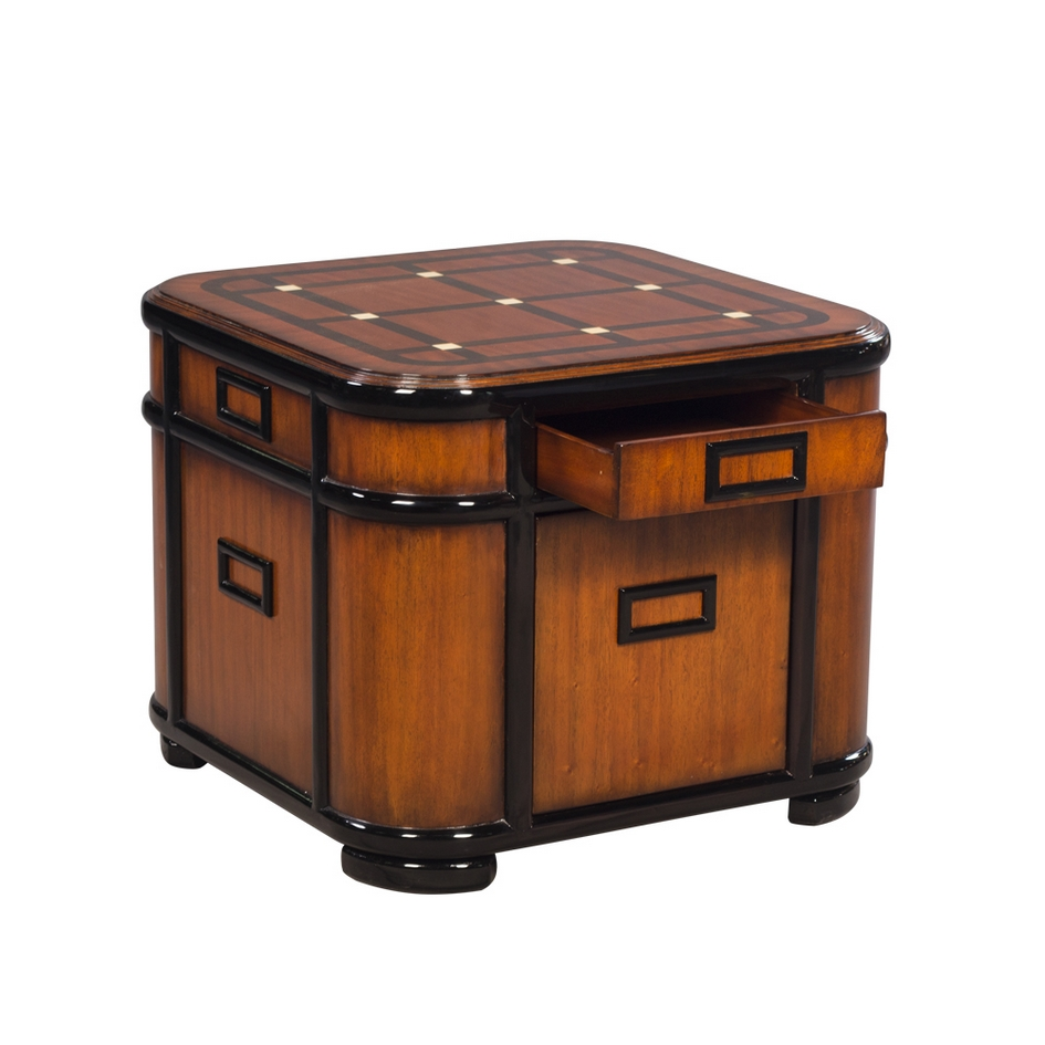 34174 Side Table Chicago EM EBN 4