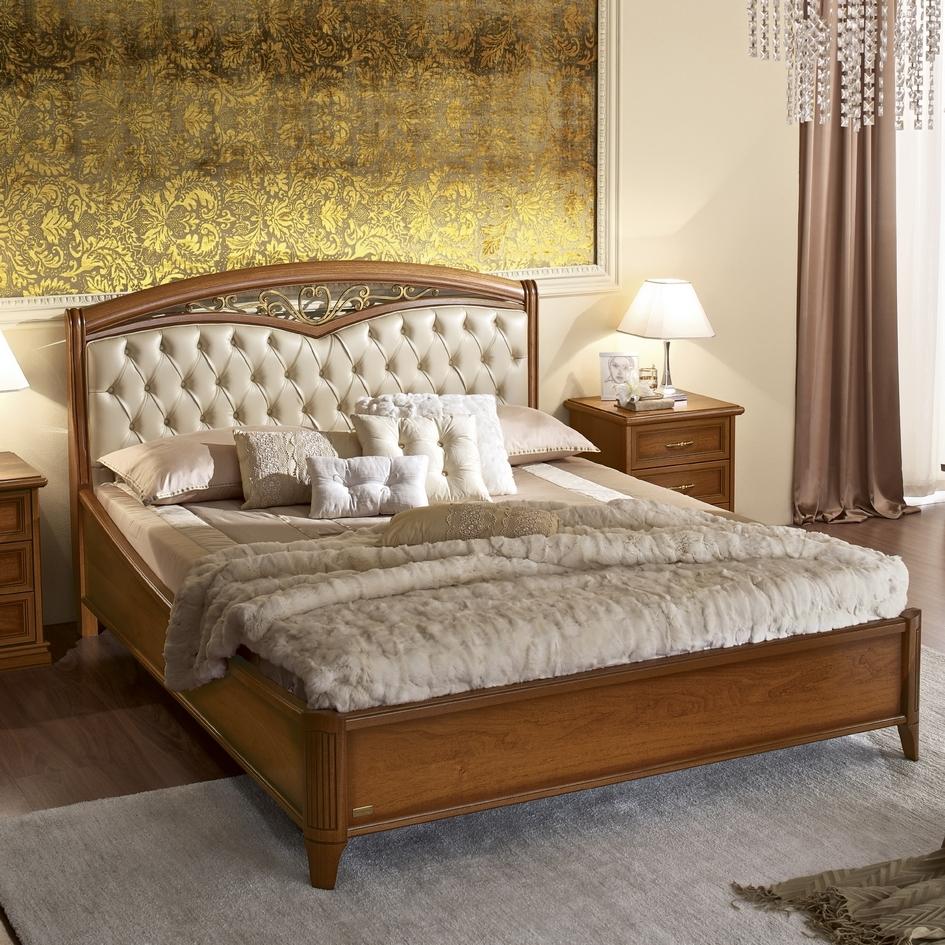 Klassiek noten bed slaapkamer Nostalgia