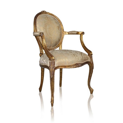 Chair Cameo Goud finish Cameo11414 NF11