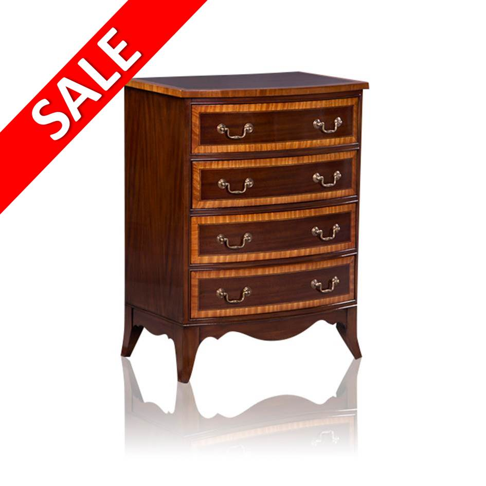 SALE Ladekast 33921  Bow Front Chest