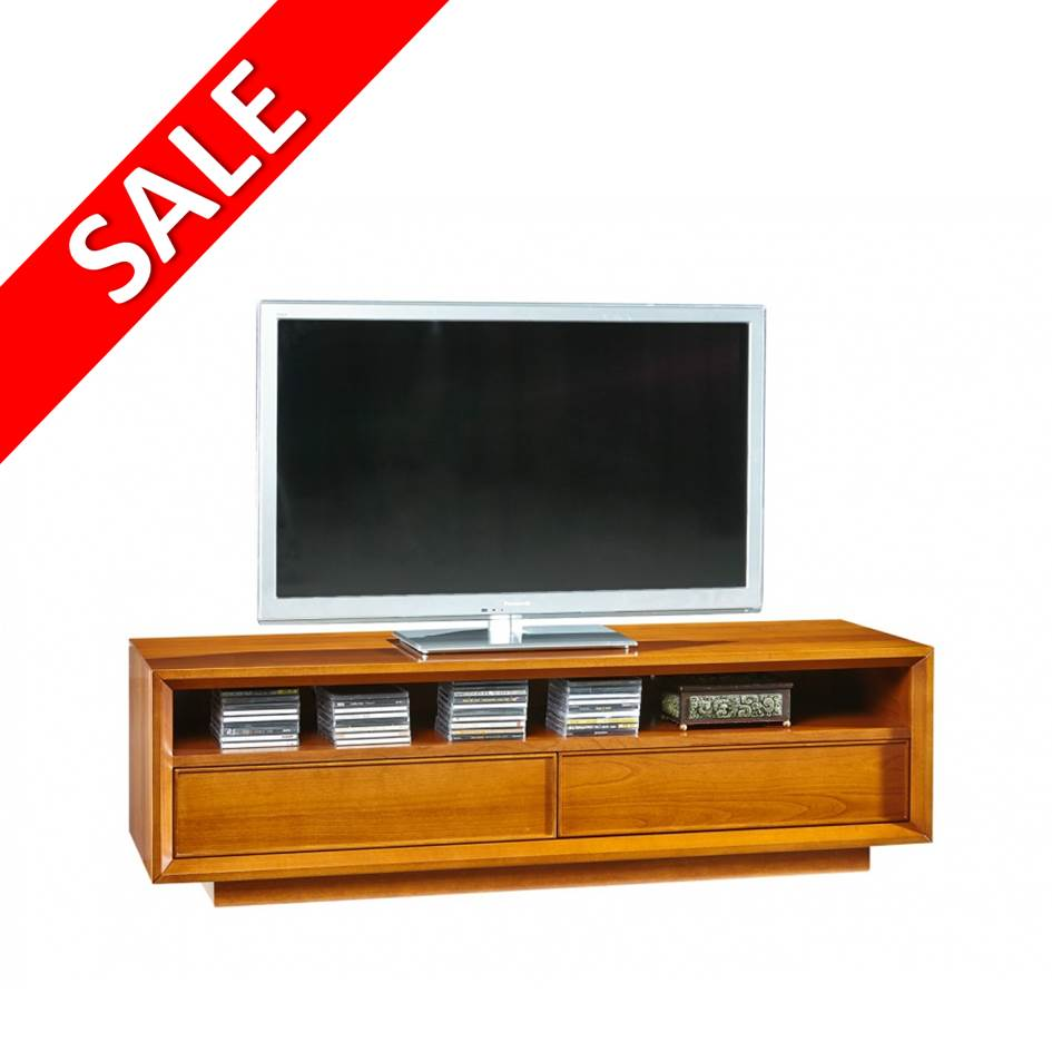 TV meubel notenhout 130 cm Selva Grace 5275