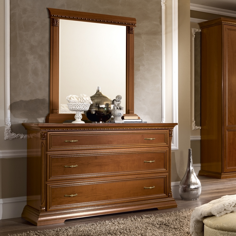 Commode kersenhout 3 lades Treviso