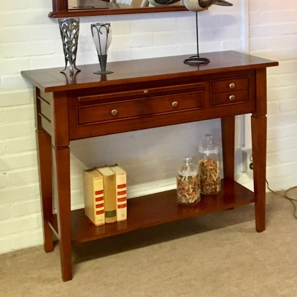 Sidetable Pikeur 100 cm kersen of noten