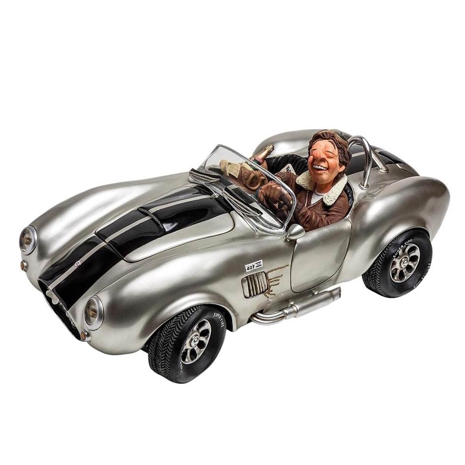 Forchino shelby cobra silver