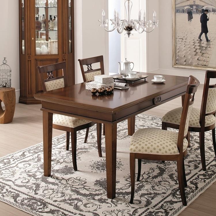 Klassieke kersen meubelen eettafel rechthoek