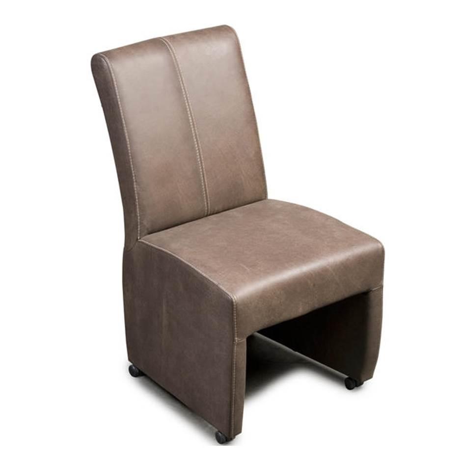 Eetstoel op wieltjes Zaandam Haveco stoel