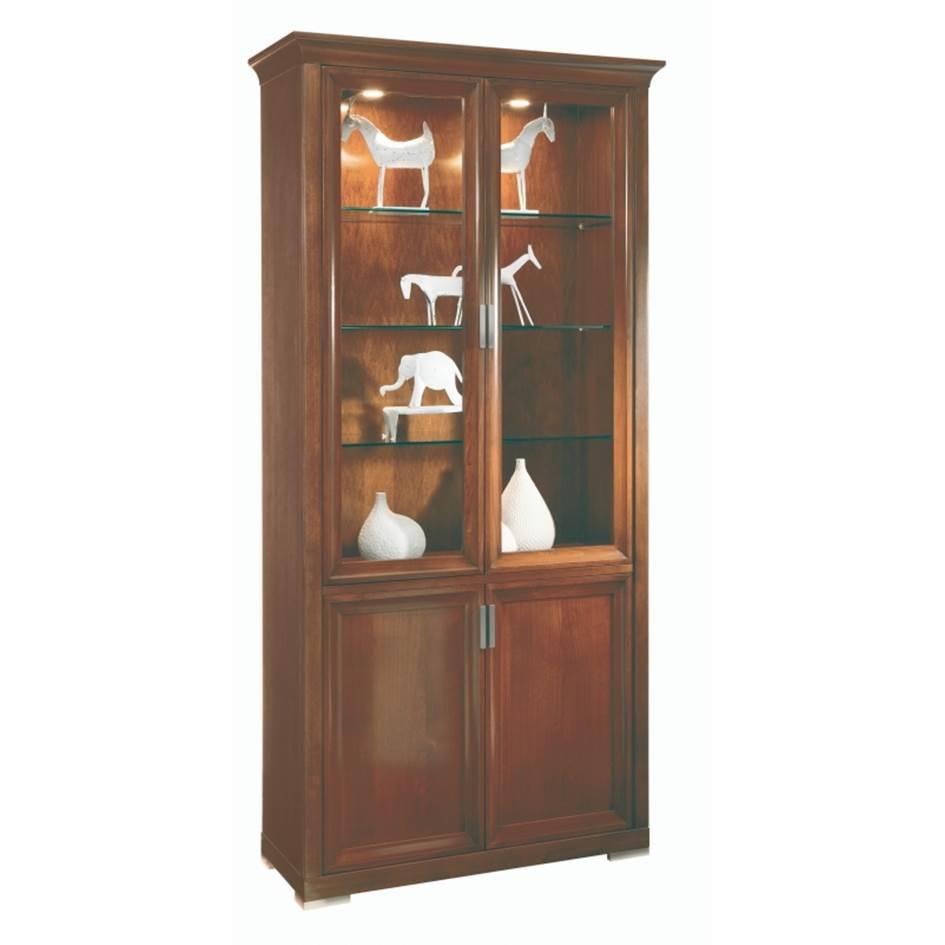 vitrine klassiek 2 deuren selva luna 7245