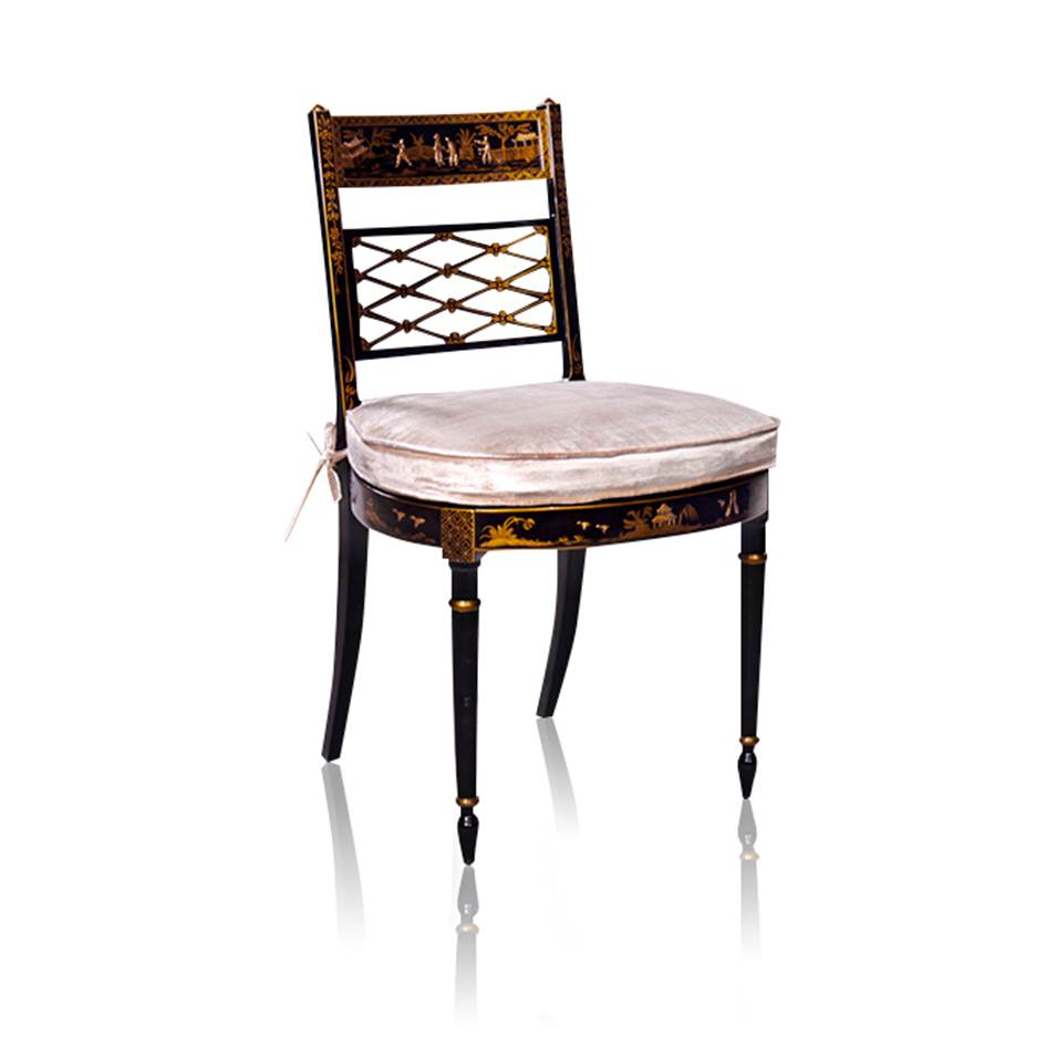 33460 Chinoiserie Side Chair Chinoiserie