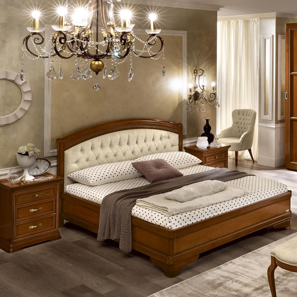 klassiek bed noten torriani