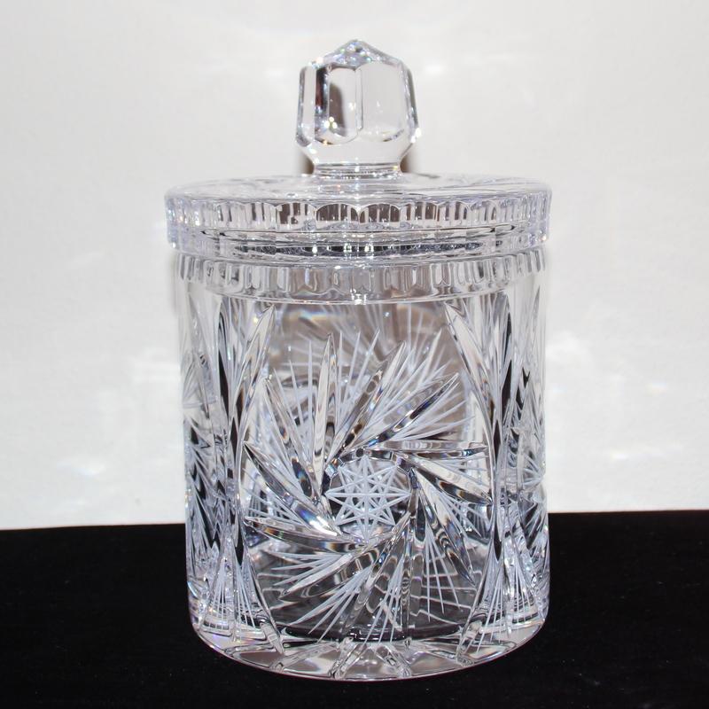 Kristallen  dekselpot 70