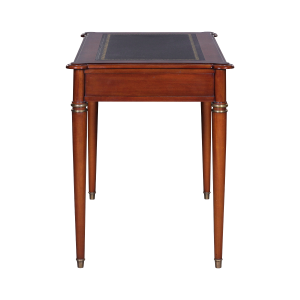 33509l - directoire writing desk leather top mlsp blk sfd4 1