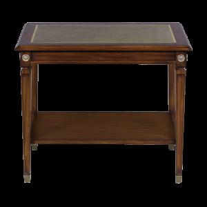 33421l - side table alain leather top em agrn sfd1 1