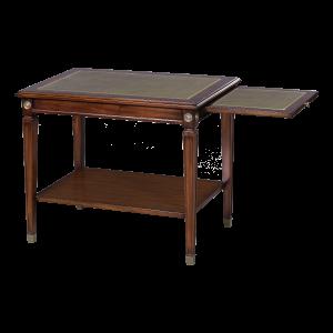 33421l - side table alain leather top em agrn sfd3 1