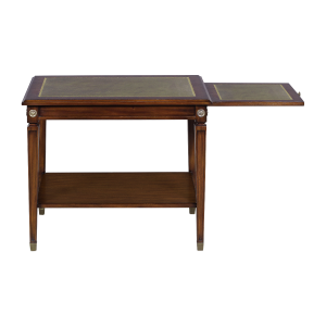 33421l - side table alain leather top em agrn sfd4 1