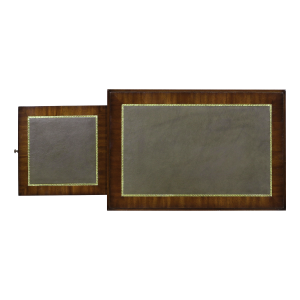 33421l - side table alain leather top em agrn sfd5 1