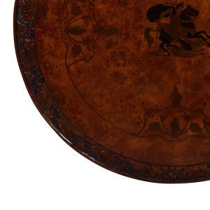 33455 - inlaid round table arte em sfd6