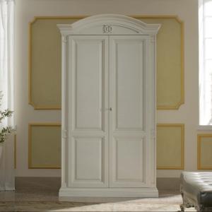 Nabucco garderobe dicht wit NF930