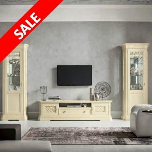 TV meubel Tiffany wit SALE