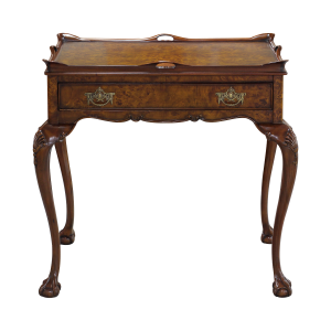 33446 - tea table with tray burl em sfd1