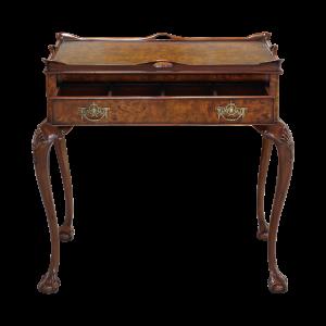 33446 - tea table with tray burl em sfd2