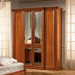 Slaapkamer kledingkast kersen