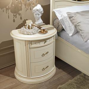 Nachtkastje wit slaapkamer Siena