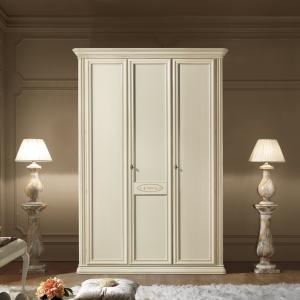 Garderobe kast wit Siena