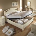 Opbergruimte in bed wit woonstijlgalerie