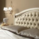 Witte slaapkamer bed Siena