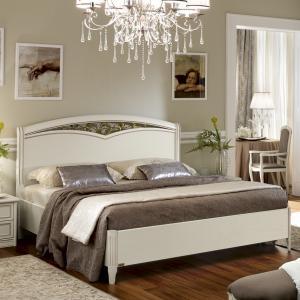Wit bed met hoofdbord Ricordi Camelgroup