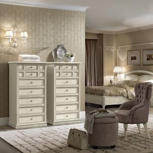 slaapkamer Ladekast wit