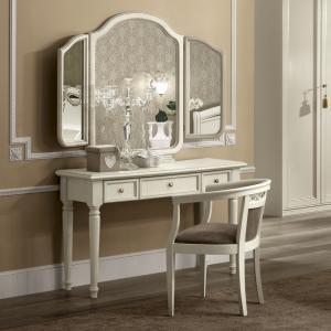 Toilettafel slaapkamer wit klassiek