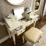 Witte toilettafel make up tafel