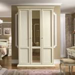 Kledingkast wit klassieke slaapkamers