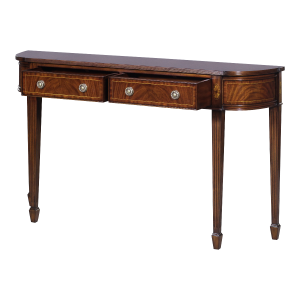 33640 - mahogany wall console large em sfd2