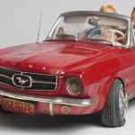 FO85079 Ford Mustang 4 Convertible