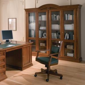 Bureaustoel kersen klassiek