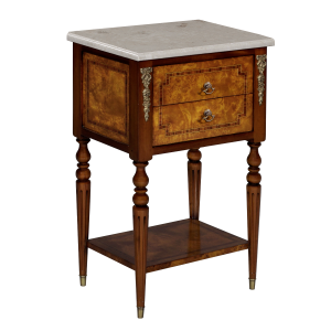 34646bs - side table burl