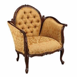 klassieke fauteuil mahoniehout 31457 M 010A