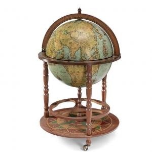 calipso Globe bar meubel 50cm lagune