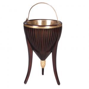 wine cooler amberre plantstand mahonie 31927