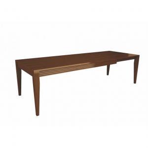 eettafel klassieke meubels luna selva 3237 uitschuif