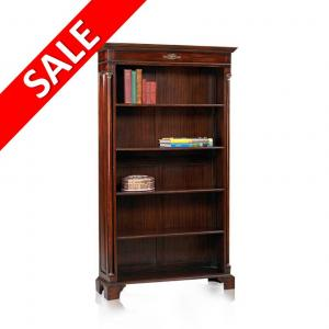 Mahonie Empire Boekenkast 10575 SALE