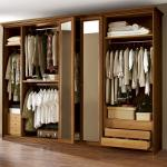 Garderobe kast indeling