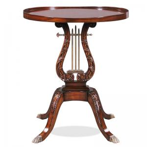 Lamp Table Lyre 12582