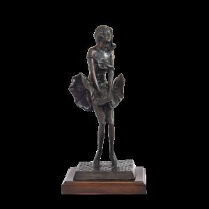 80030 marilyn brass statue
