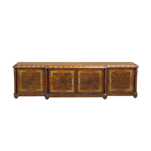 34189 - tv stand parma em rosewood panels in rosewood special sfd1