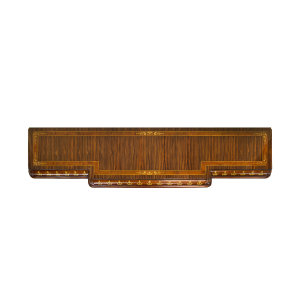 34189 - tv stand parma em rosewood panels in rosewood special sfd3